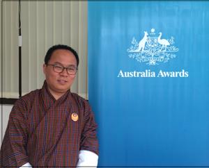 Sonam Tobgay, an Australia Awards alumnus