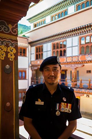 Major Lobzang Phuntsho: bringing forensics to the criminal